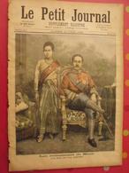 N° 133 Le Petit Journal, Supplément Illustré, Juin 1893. événements De Siam. Roi Et Reine - Livres, BD, Revues