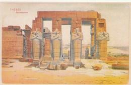 POSTAL ANTIGUA DE EGIPTO. THEBES. RAMESSEUMES. (1024). - Historia