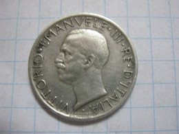 5 Lire 1929 - 1900-1946 : Victor Emmanuel III & Umberto II