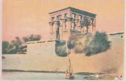 POSTAL ANTIGUA DE EGIPTO. ASWAM. TEMPLO DE PHYLAE. (1028). - Historia