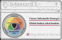 Switzerland: PTT KP-93/226 311L Atag Ernst & Young - Svizzera