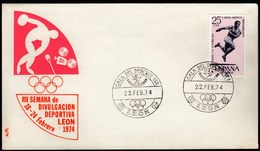 Spain Leon 1974 / Sport Parade / Ball / Athletics / Olympic Rings - Non Classificati
