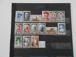 FRANCE ANNEE COMPLETE 1950 (YT 863/877)* - 1950-1959
