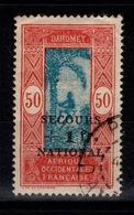 Dahomey- YV 145 Oblitere , Secours National - Oblitérés