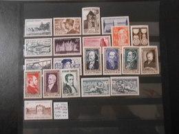 FRANCE  YT919/939 ANNEE 1952 COMPLETE* - 1950-1959