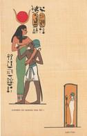 """POSTAL DE EGIPTO. """"GODS AND KINGS"""". KING SETI I, Nº 321. (1031). - Historia"""