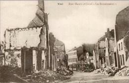 """VISE - Rue Haute Et Local """"La Renaissance"""" - Guerre 14-18 - N'a Pas Circulé - Visé"""
