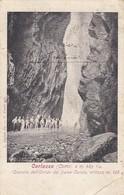 CORLAZZO-COMO-CASCATA DELL'ORRIDODEL FIUME CUCCIO-CARTOLINA VIAGGIATA NEL 1912 - Como