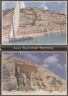 LIBRO EN PLIEGUE DE 18 POSTALES DE EGIPTO. ARQUEOLOGIA. APU SEMBAL TEMBLE. (1034). - Historia