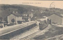 J45 - 39 - MORBIER - Jura - La Gare - France