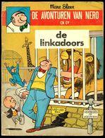 """De Avonturen Van NERO En C°: N° 3 """"DE LINKADOORS"""" - Uitgave : N.V. STANDAARD - Antwerpen - 1966. - Nero"""
