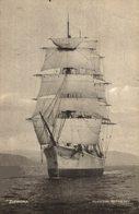 Belle Et Rare Cpa Voilier Anglais ZIPPORA (3 Mâts) Velero -Voilier - Velero Sailboat - Voiliers