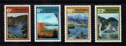 New Zealand 1972 Lakes Set Of 4 MNH - See Notes - - Nouvelle-Zélande