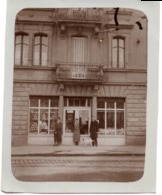 Aff. Biere De Champigneulles  C.1930 Dépôt Coopérative Laitière Moselle - Metz ? - Photo 8x9.5cm  Devanture Magasin - Places