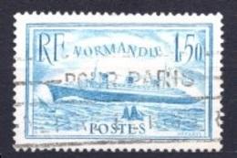 1936 FRANCE NORMANDIE MICHEL: 316 USED - Gebraucht