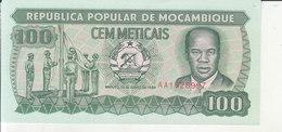 Mozambique - 100 Meticais - Mozambique
