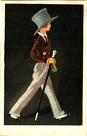 20 Illustration Italien Indéterminé Homme (degami 1043) - Illustrateurs & Photographes