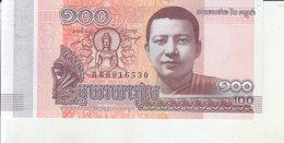 Cambodja - 100 Riel - Cambodge