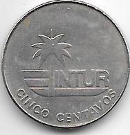 Cuba 5 Centavos 1981  Km 411 Xf+ - Cuba