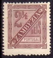 ZAMBEZIA ZAMBESIA ZANZIBAR 1894 NEWS PAPER GIORNALI 2 1/2r MNH - Zambezia