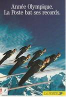 LA POSTE Année Olympique 1991 2 Scans - Sports D'hiver