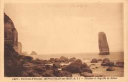 76 - Environs D'ETRETAT - BENOUVILLE-sur-MER - Falaises Et Aiguille De Belval - Etretat