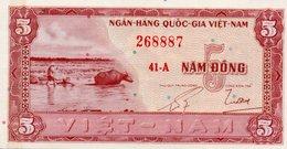 VIETNAM SOUTH  =N/D      5  DONG    P-13     UNC - Vietnam