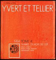 Catalogue Y. & T. - Edition 1984 - Tome 4 - EUROPE De L'EST - Table Des Matières En Scan 2. - Catalogues De Cotation