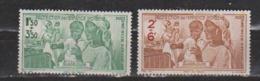 GUADELOUPE      N° YVERT  PA 1/2   NEUF SANS CHARNIERES     ( NSCH 1/02) - Guadeloupe (1884-1947)