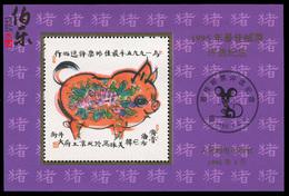 1995 China BEST STAMPS POLL COMM. MS(NO VALUE) 1V - 1949 - ... Volksrepubliek