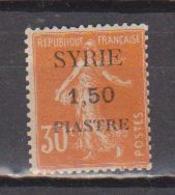 SYRIE        N°  YVERT  :   111   NEUF AVEC  CHARNIERES      (  CH  01/21 ) - Syrien (1919-1945)