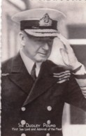 GUERRE 1939-45  - SIR DUDLEY POUND  -  First Sea Lord And Admiral Of The Fleet - Personnages