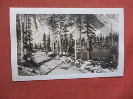 RPPC - W Mirror  Lake   Wyoming > Laramie  Ref 3885 - Laramie