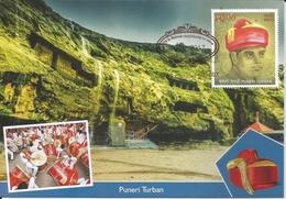 Culture,Costumes,Head Gear,Puneri Turban,Puneri Pagadi,Maxim Card,By India Post,Traditional Dress - Costumi