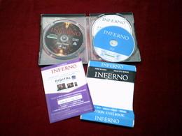 INFERNO  AVEC TOM HANKS  DVD   BLUE RAY  SERIE STEELBOOK  BLU RAY + DVD + DISQUE BONUS + DIGITAL ULTRAVIOLET - Fantascienza E Fanstasy