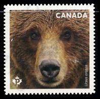 Canada (Scott No.3191 - Bears) (o) Adhesive From BK - 1952-.... Règne D'Elizabeth II