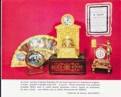 Présentation De La Collection Du Docteur Marteret - Photo 15 X 18 Cm: Objets D'Antiquaire: Pendules, Loterie Ambulante - Other Collections