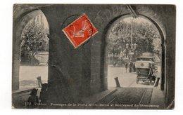 83 - TOULON - Passages De La Porte Notre-Dame Et Boulevard De Strasbourg - Animée + Tacot - 1907  (Q162) - Toulon