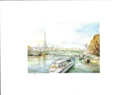 Lithographie - Paris Le Pont Alexandre III Par R. Ricart - Lutèce édition - Other Collections