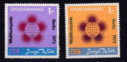Weltfestspiele Berlin 1973 Spendenmarken - DDR