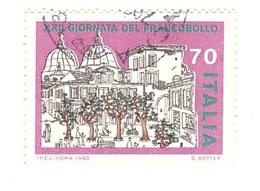 1980 £70 XXII GIORNATA DEL FRANCOBOLLO - Giornata Del Francobollo