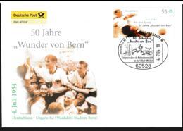 Germany FDC 2004 50 Jahre Wunder Von Bern - FIFA World Cup Switzerland 1954 (G109-47) - 1954 – Schweiz