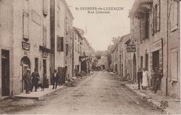 AVEYRON SAINT GEORGES DE LUZENCON RUE CENTRALE - Andere Gemeenten