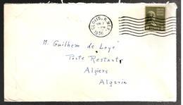 28201 - Pour L'ALGERIE Avec  3 Timbres Taxe - Vereinigte Staaten