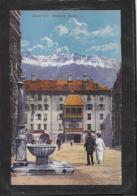 AK 0424  Innsbruck - Goldenes Dachl / Verlag Purger & Co Um 1910-20 - Innsbruck