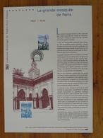 Document Officiel FDC 12-501 Grande Mosquée De Paris Mosque Islam 2012 - Islam