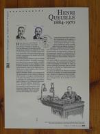 Document Officiel FDC 12-505 Henri Queuille Neuvic 19 Corèze 2012 - De Gaulle (General)
