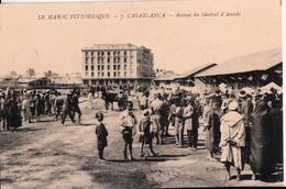 CASABLANCA-AVENUE DU GENERAL D'AMADE - Casablanca