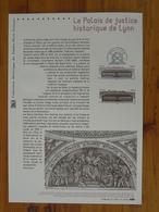 Document Officiel FDC 12-507 Palais De Justice De Lyon 2012 - FDC
