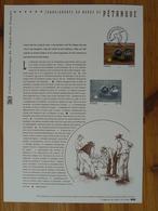 Document Officiel FDC 12-521 Petanque Marseille 13 Bouches Du Rhone 2012 - Pétanque